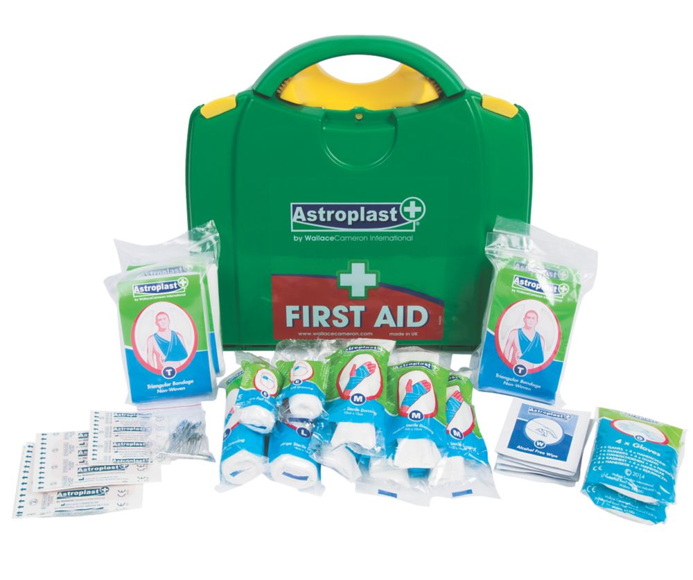 Image of Wallace Cameron 1002114 PGB 10 Person HSE First Aid Kit