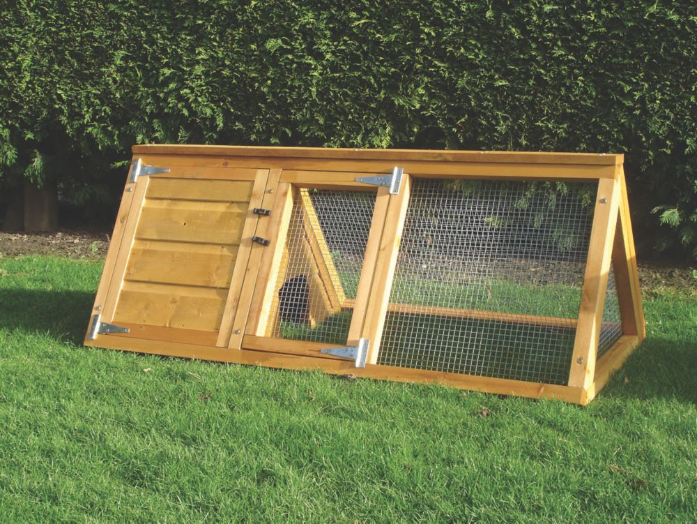 Image of Shire Dip-Treated Softwood Animal House 1320 x 635 x 535mm