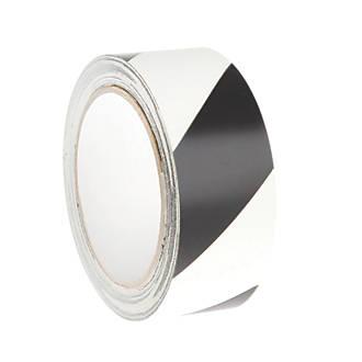Image of Nite-Glo Chevron Safety Tape Luminescent / Black 10m x 40mm