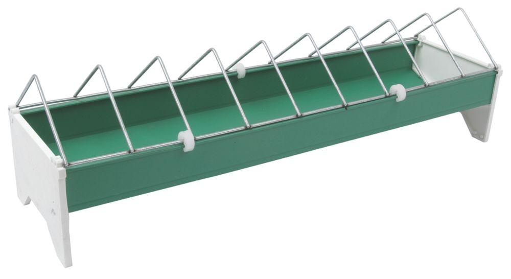 Image of Stockshop Wolseley Plastic & Steel Ground Feeder x 148mm Green 2.5kg