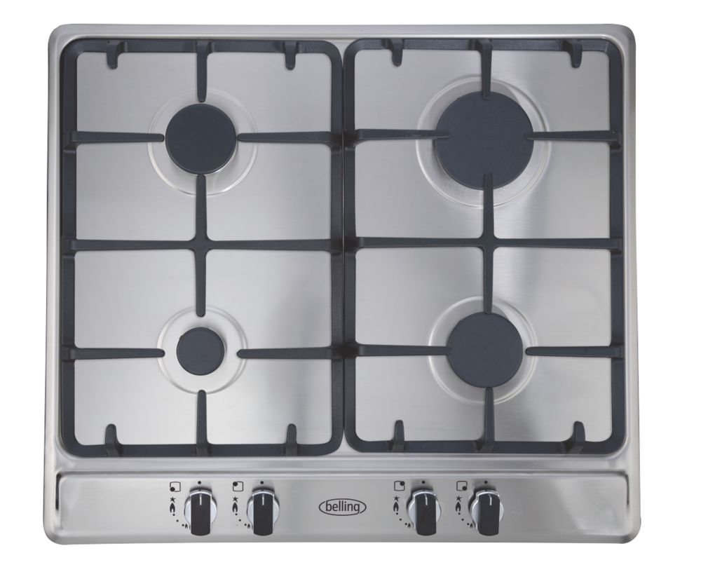 Image of Belling GHU60CG STA Gas Hob Stainless Steel 500 x 580mm