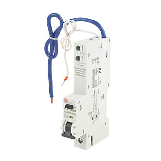 Image of Wylex 10A 30mA SP Type B RCBO
