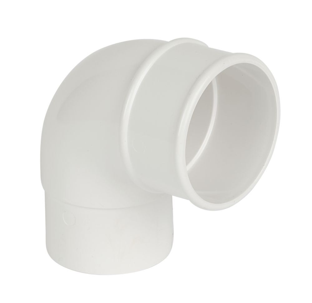 Image of FloPlast 92.5 Offset Bend 68mm White