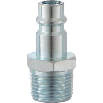 "Image of PCL AA7102 XF Male Adaptor Plug ¼"" BSP Taper Male Thread"