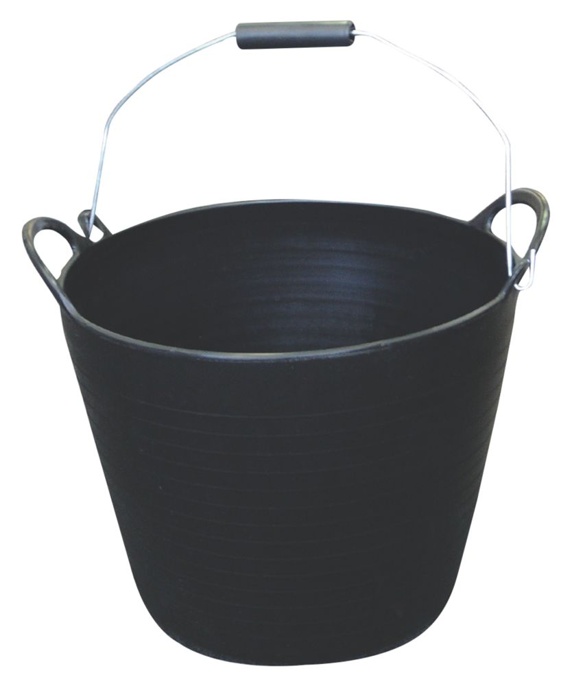 Image of Active Ultimate Builders Tub 26Ltr Black 5 Pack