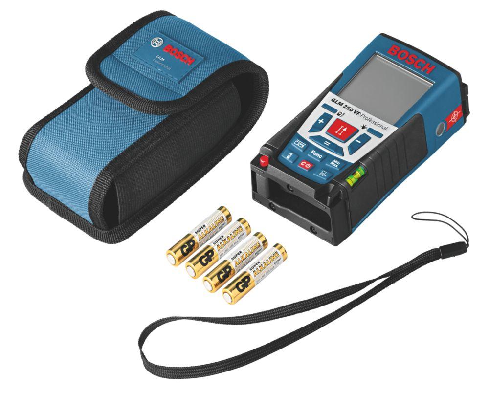 Image of Bosch GLM250VF Laser Rangefinder
