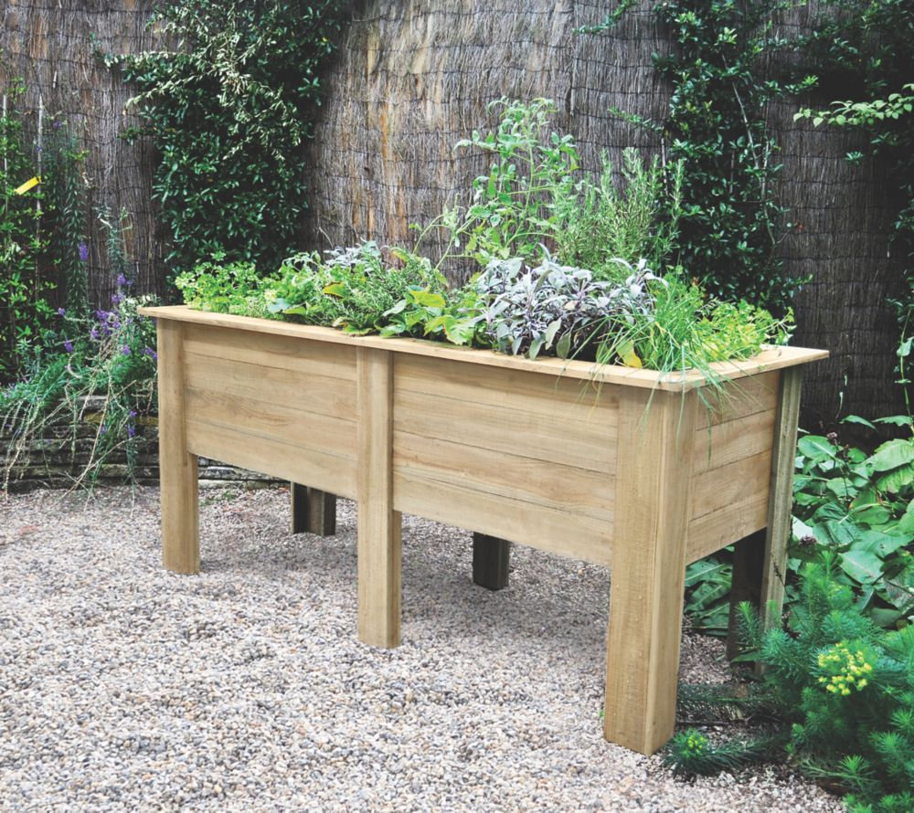 Image of Forest Rectangular Deep Root Planter 1800 x 700 x 798mm