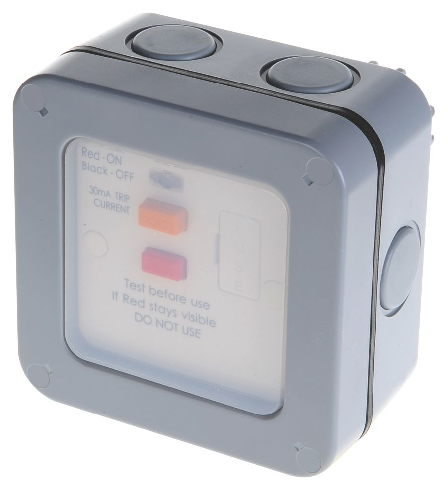 Image of BG 13A Switched Weatherproof RCD FCU