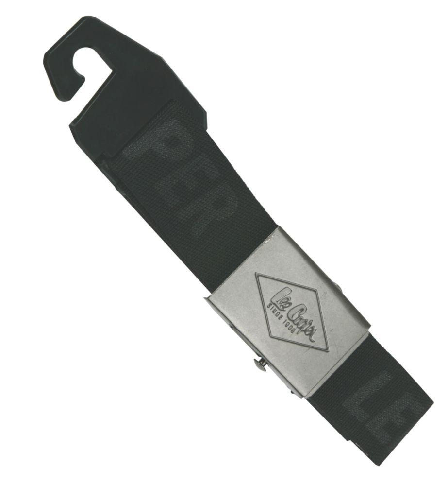 Image of Lee Cooper Canvas Belt Black