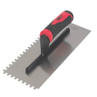 Image of Forge Steel 11i Adhesive Trowel Square Notched 6mm