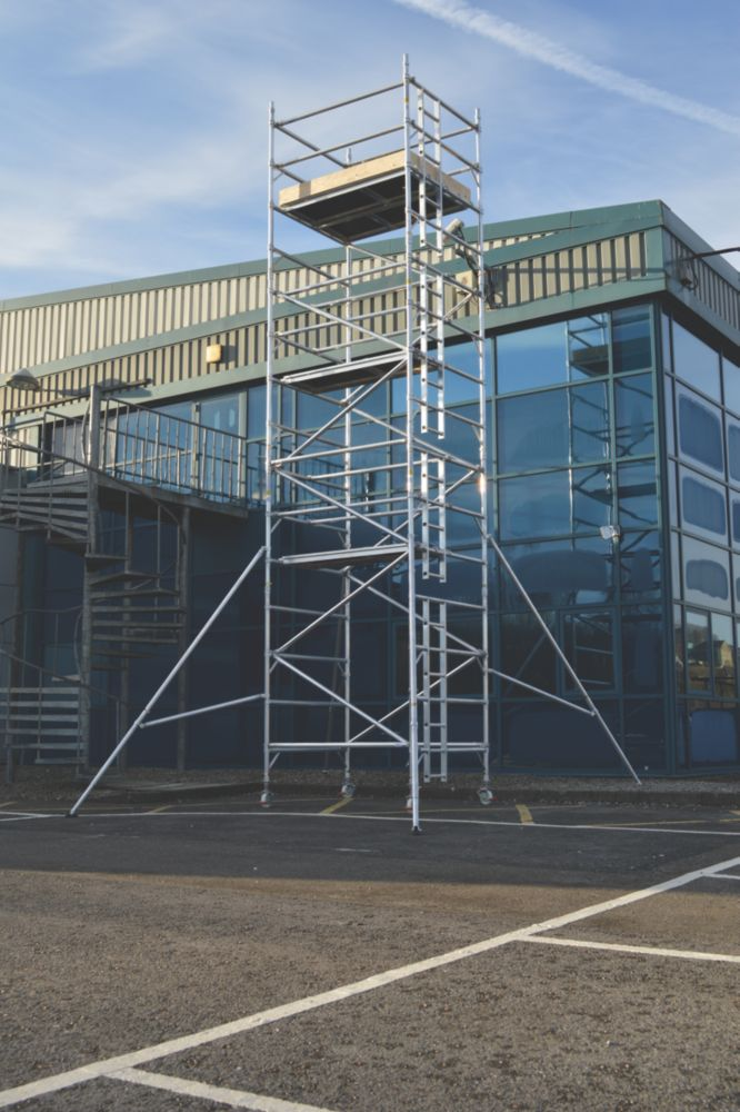 Image of Lyte SF18DW67 Helix Double Width Industrial Tower 6.7m
