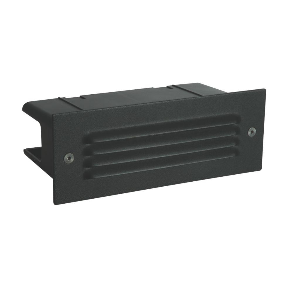 Image of Saxby Seina Recessed LED Brick Light Black 4.5W