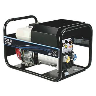 Image of SDMO VX200/4H 4000W 200A DC Portable Generator & Welding Set 110 / 230V