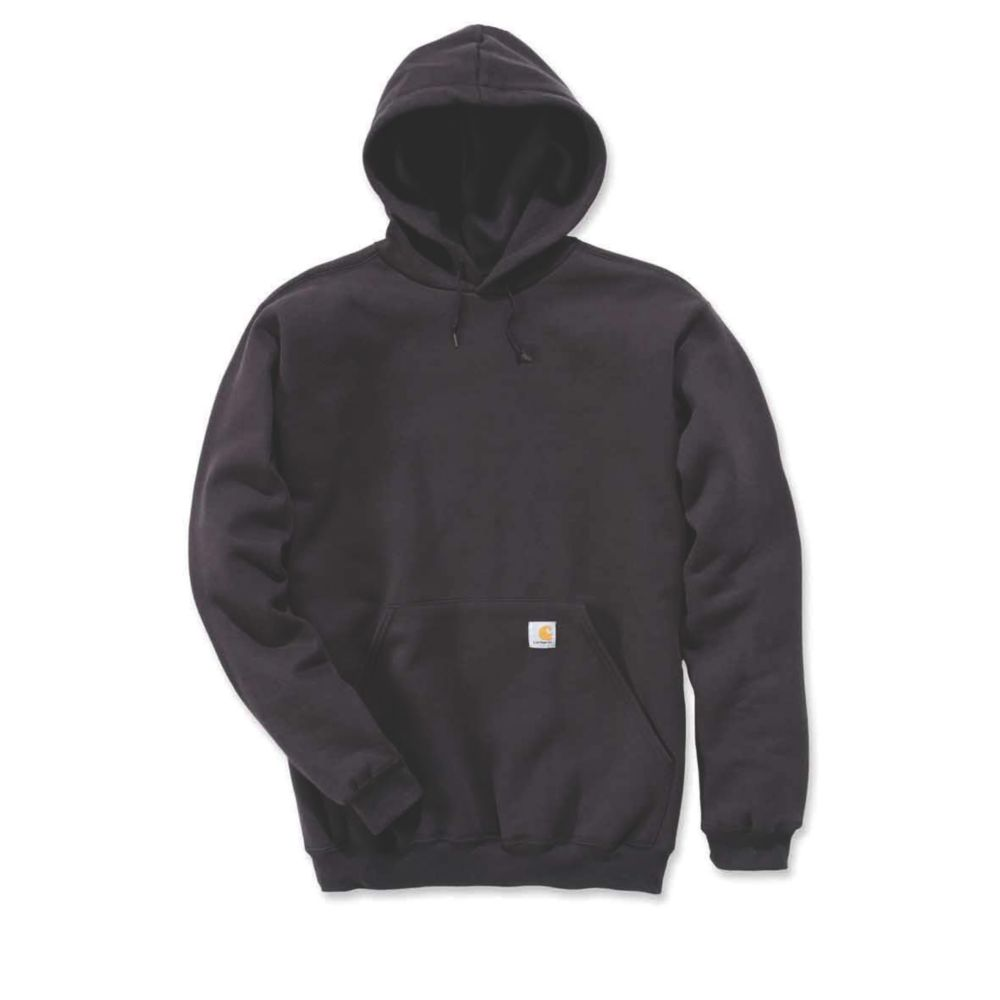 Image of Carhartt K121 Hoodie Black X Large Chest