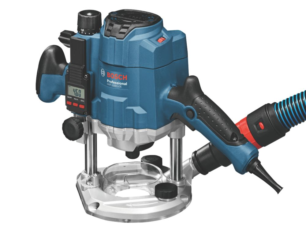 Image of Bosch GOF 1250 LCE 1250W 8mm Router 230V