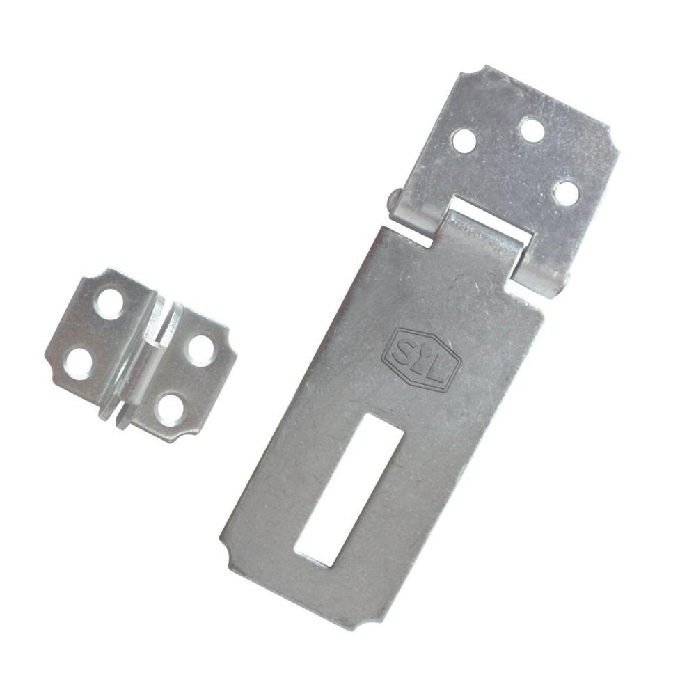 Image of Smith & Locke Hasp & Staple Zinc 62mm