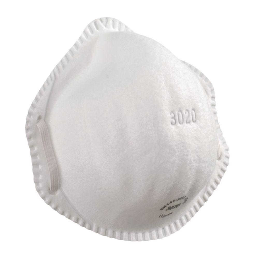 Image of Alpha Solway 3020 Moulded Disposable Masks P2 20 Pack
