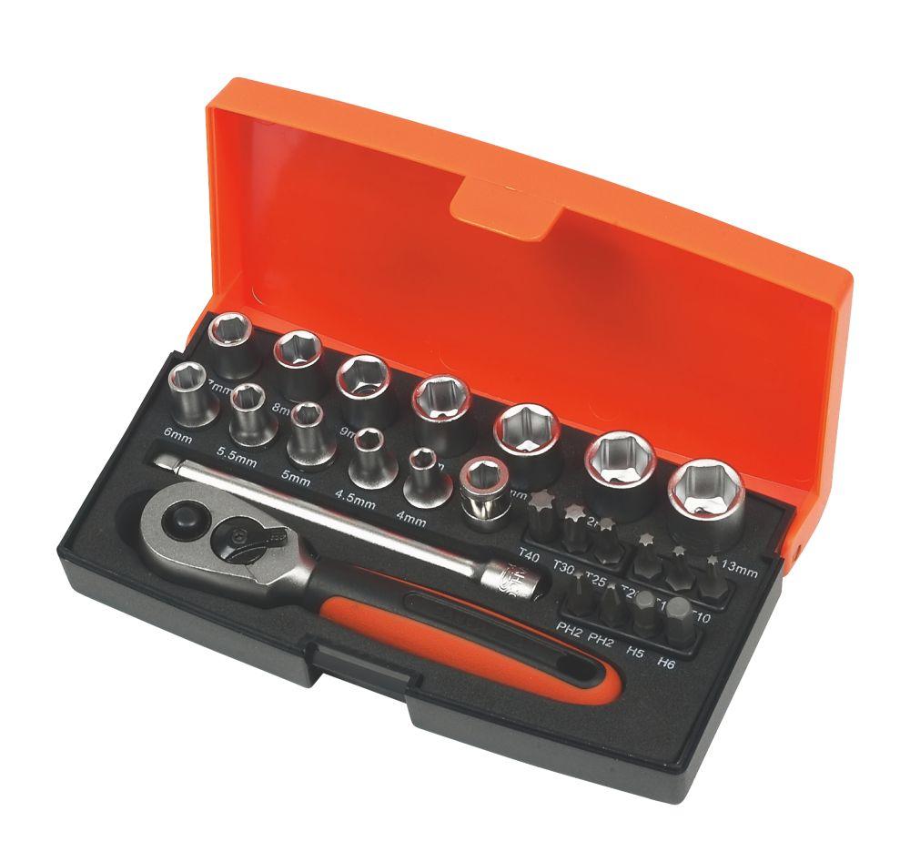Image of Bahco Pocket Socket Set 25Pcs