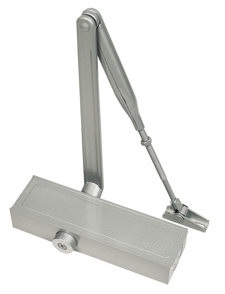 Image of Briton 1110 Overhead Door Closer Silver