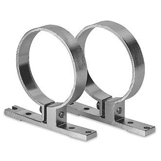 Image of Enlite LinearTube Surface-Mounting Brackets 70mm 2 Pack