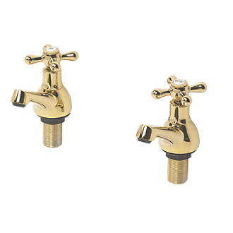 Image of Swirl Bath Taps Pair