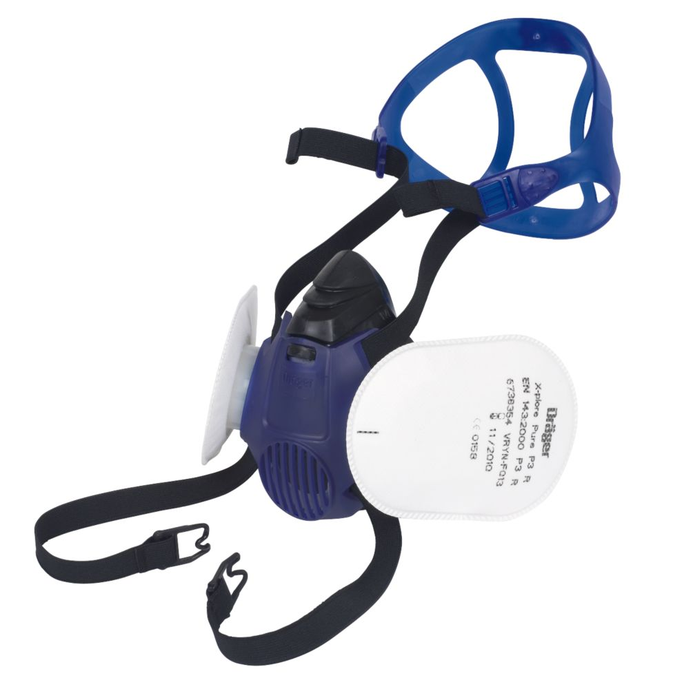 Image of Draeger X-plore 3500 Construction Half Mask with Filters P3