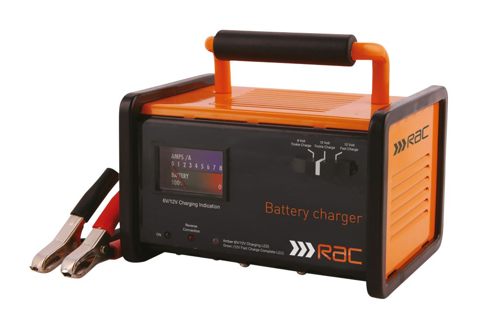 Image of RAC RAC-HP026 12A Battery Charger 6 / 12V