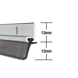 Image of Stormguard Heavy Duty Around Door Strips Aluminium 1.02m 5 Pack