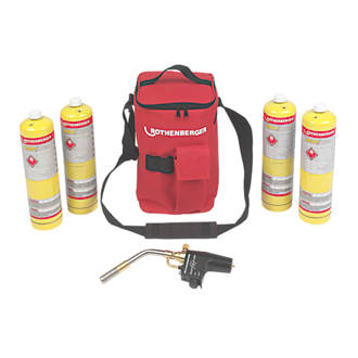 Image of Rothenberger Hot Bag with Super Fire & 4 x MAP/PRO