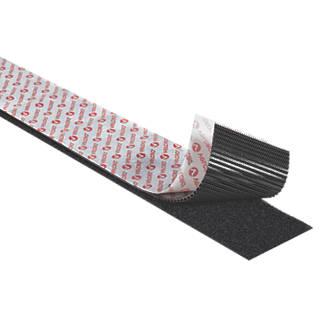 Image of Velcro Brand Black Heavy Duty Stick-On Tape 1 x 50mm