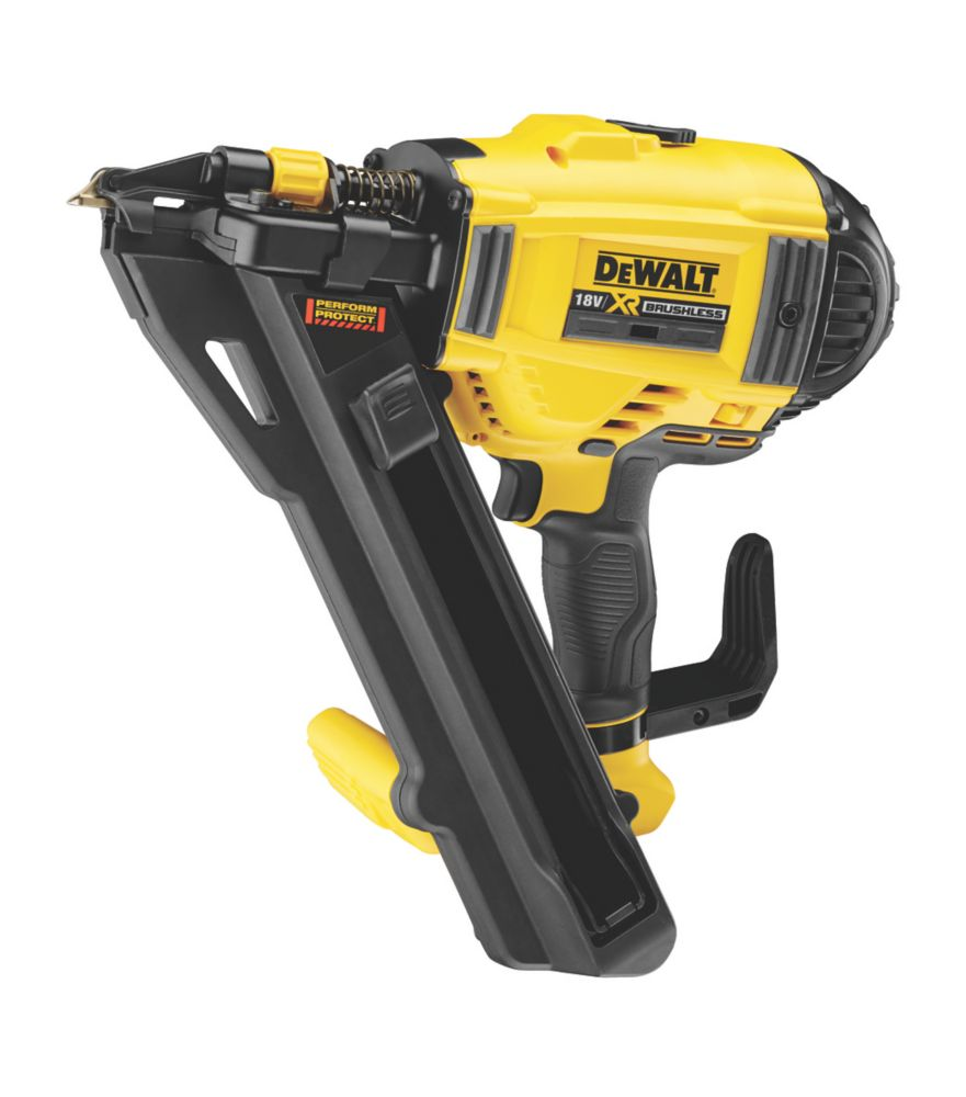 Image of DeWalt DCN694N-XJ 40mm 18V Li-Ion XR First Fix Positive Placement Metal Connecting Nailer - Bare