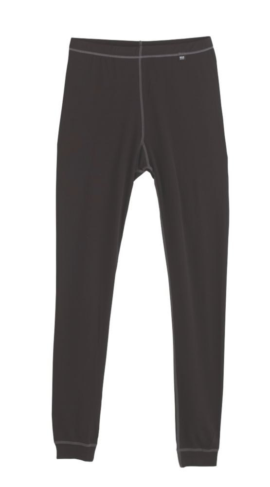 """Image of Helly Hansen Kastrup Baselayer Trousers Black Large 36-38"""" W 32-33 """" L"""