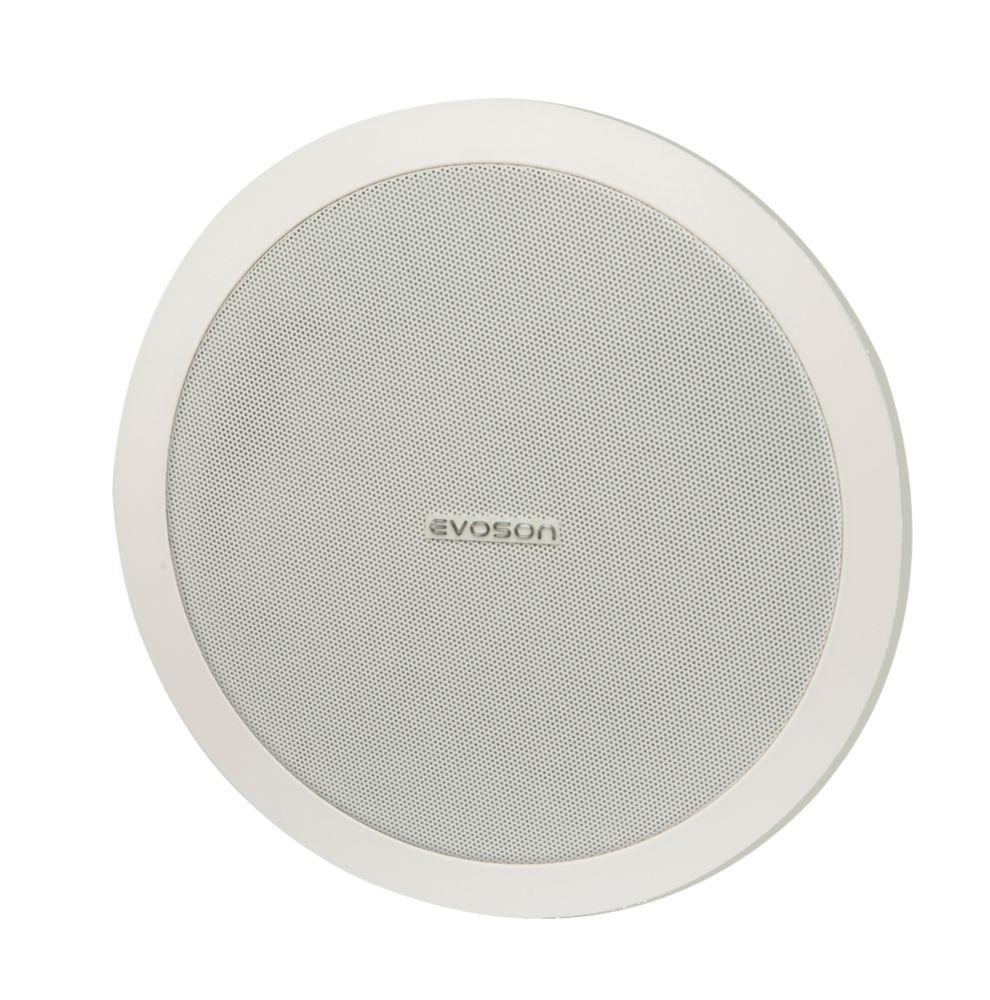 "Image of Evoson Ceiling Speaker White 10.5"" 50W RMS"