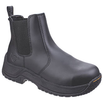 Image of Dr Martens Drakelow Safety Boots Black Size 8