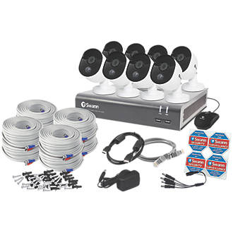 Image of Swann SODVK-845808-UK 8-Channel Wired CCTV Kit & 8 Cameras