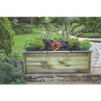 Image of Forest Rectangular Large Cambridge Planter 1500 x 500 x 500mm