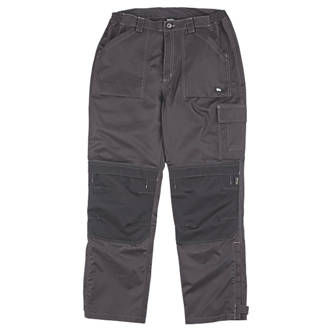 """Image of Hyena K2 Trousers Waterproof & Breathable Black Large 39½"""" W 32"""" L"""