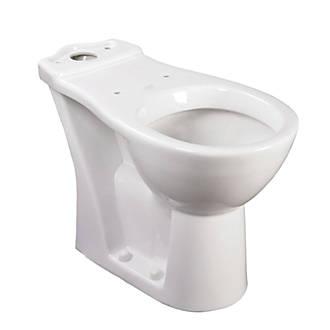 Image of AKW Raised Height Toilet Dual-Flush 6/4Ltr