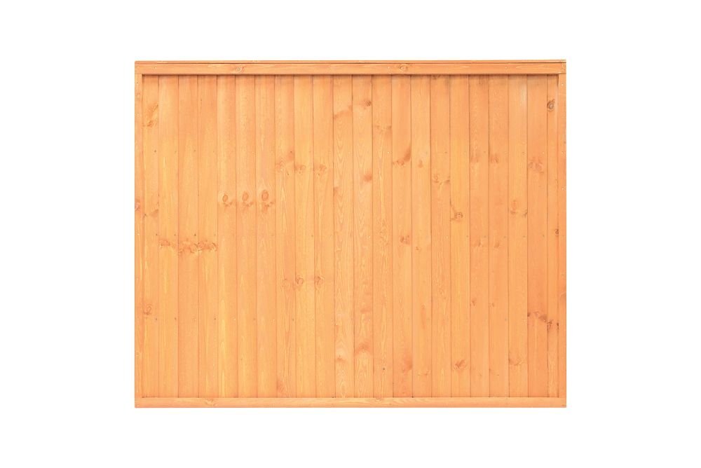 Image of Grange Closeboard Fence Panels 1.83 x 1.8m 3 Pack