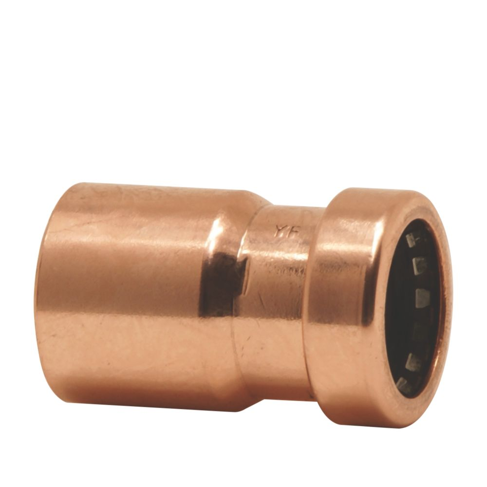 Image of Yorkshire Tectite Sprint Push-Fit Pipe Reducer 15 x 10mm