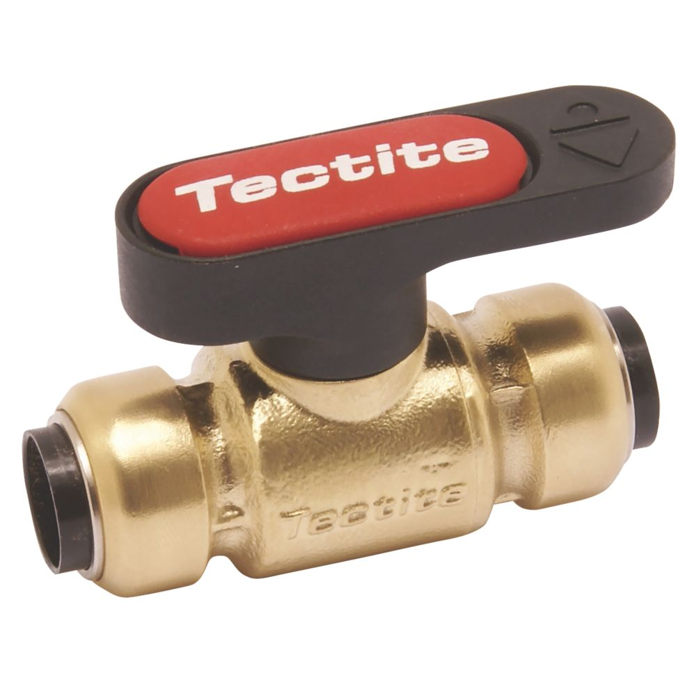 Image of Tectite Sprint Lever Ball Valve Brass 15mm