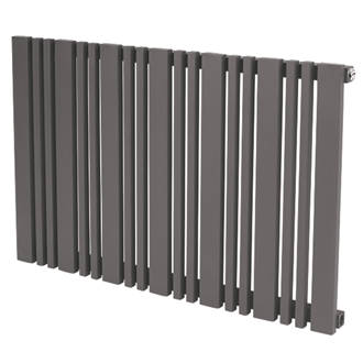 Image of Reina Bonera Designer Radiator 550 x 588mm Anthracite