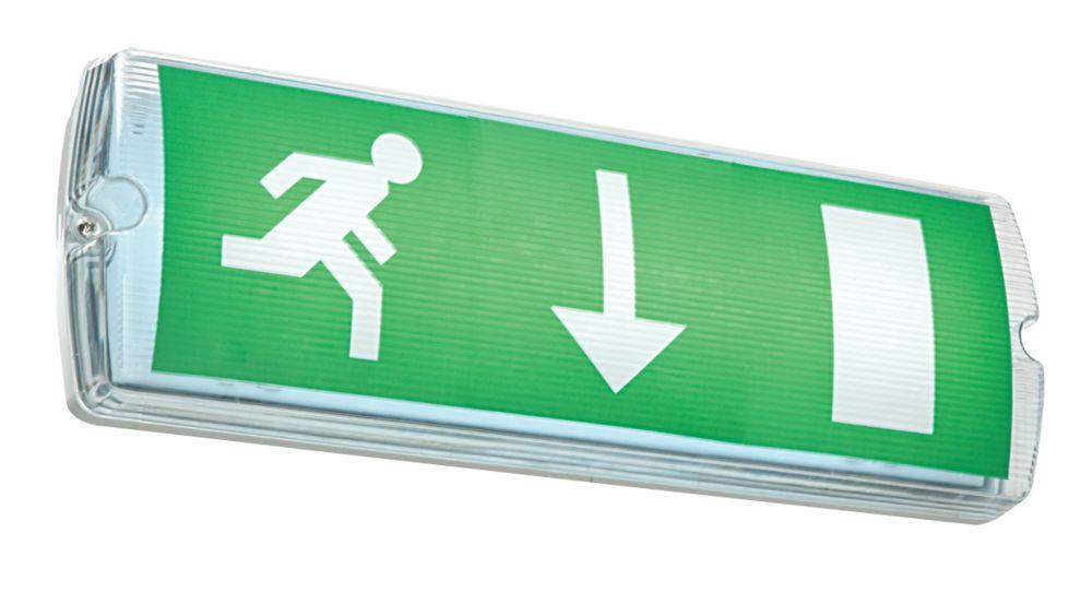 Image of Saxby LED Emergency Exit Bulkhead
