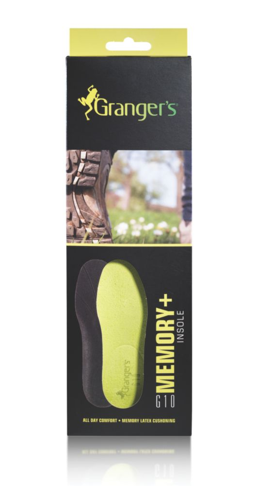 Image of Grangers Memory+ Insoles Size 10