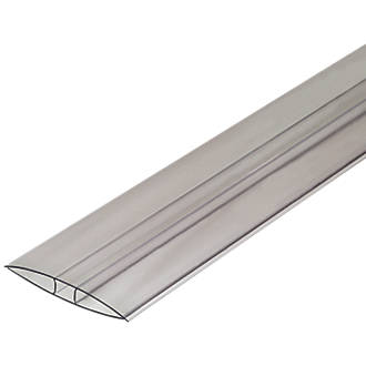 Image of SNAPA Clear 10mm 10mm H-Section Glazing Bar 60mm x 3000mm