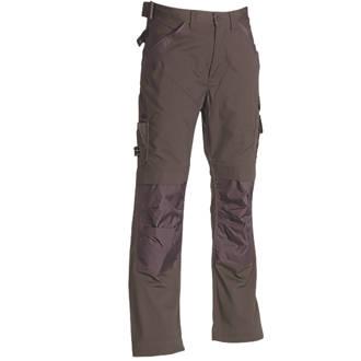 """Image of Herock Apollo Work Trousers Grey 36"""" W 33/35"""" L"""