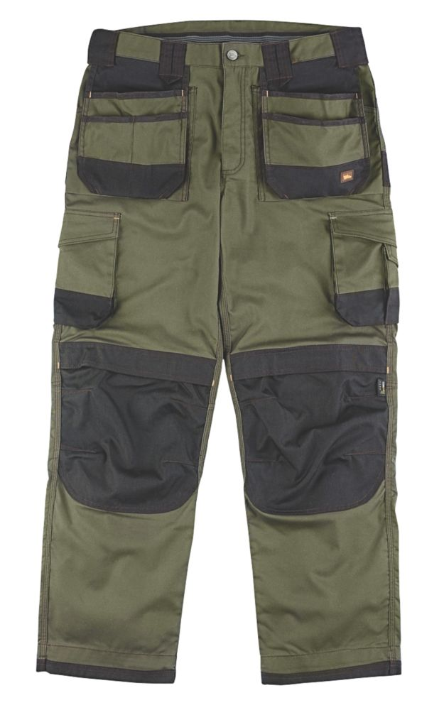"Image of Hyena Everest Trousers Olive / Black 40"" W 32/34"" L"