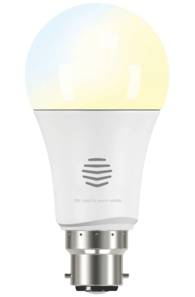 Image of Hive Smart LED GLS BC Cool to Warm White Bulb Variable White 9W 806Lm
