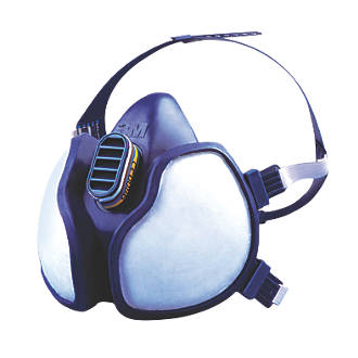 Image of 3M 4277 Maintenance-Free Organic/Inorganic Vapour/Particulate Respirator FFABE1P3RD