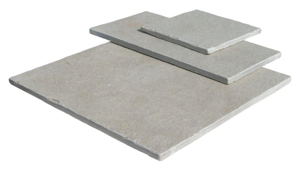 Image of Strata Stone Sorrento Bella Tumbled Limestone Patio Kit 15.39m